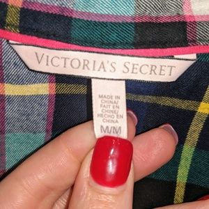 Victorias Secret Flannel Size Medium
